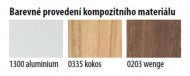 FLAT CUBE sprchový panel 400x1390mm, Wenge ( 80721-0203 )