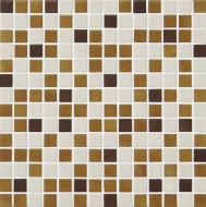 MIX 25012-C Glass mosaic 2,5x2,5 (bal.= 2,00m2) ( 25012-C )